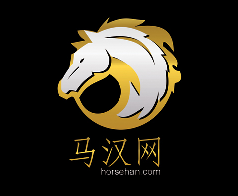 "Logo Design by Private User - Entry No. 131 in the Logo Design Contest ""马汉网"" (horsehan.com)."