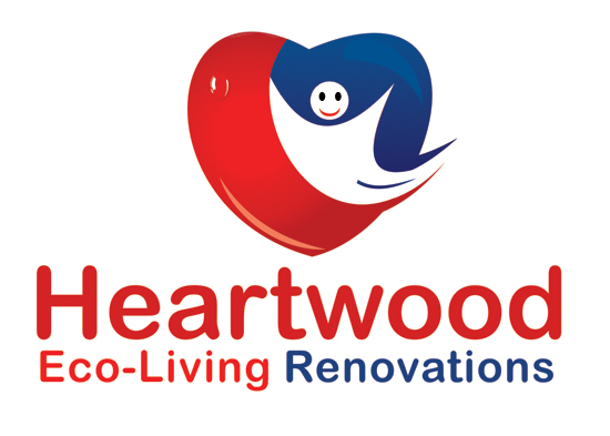 Logo Design by Private User - Entry No. 17 in the Logo Design Contest New Logo Design for Heartwood Eco-Living Renovations.