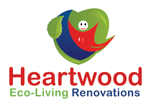 Logo Design by Private User - Entry No. 18 in the Logo Design Contest New Logo Design for Heartwood Eco-Living Renovations.