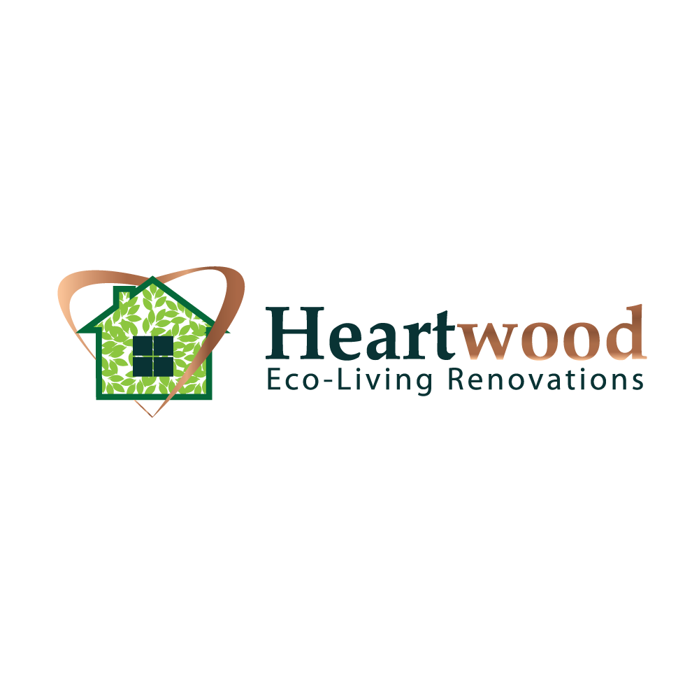 Logo Design by rockin - Entry No. 33 in the Logo Design Contest New Logo Design for Heartwood Eco-Living Renovations.