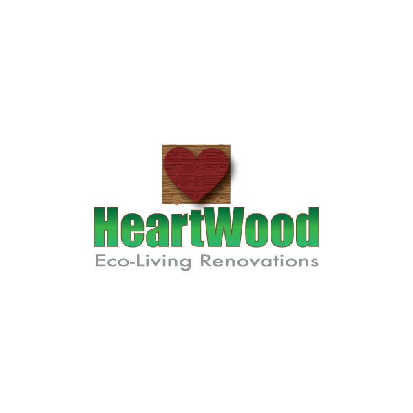 Logo Design by Diana Roder - Entry No. 37 in the Logo Design Contest New Logo Design for Heartwood Eco-Living Renovations.