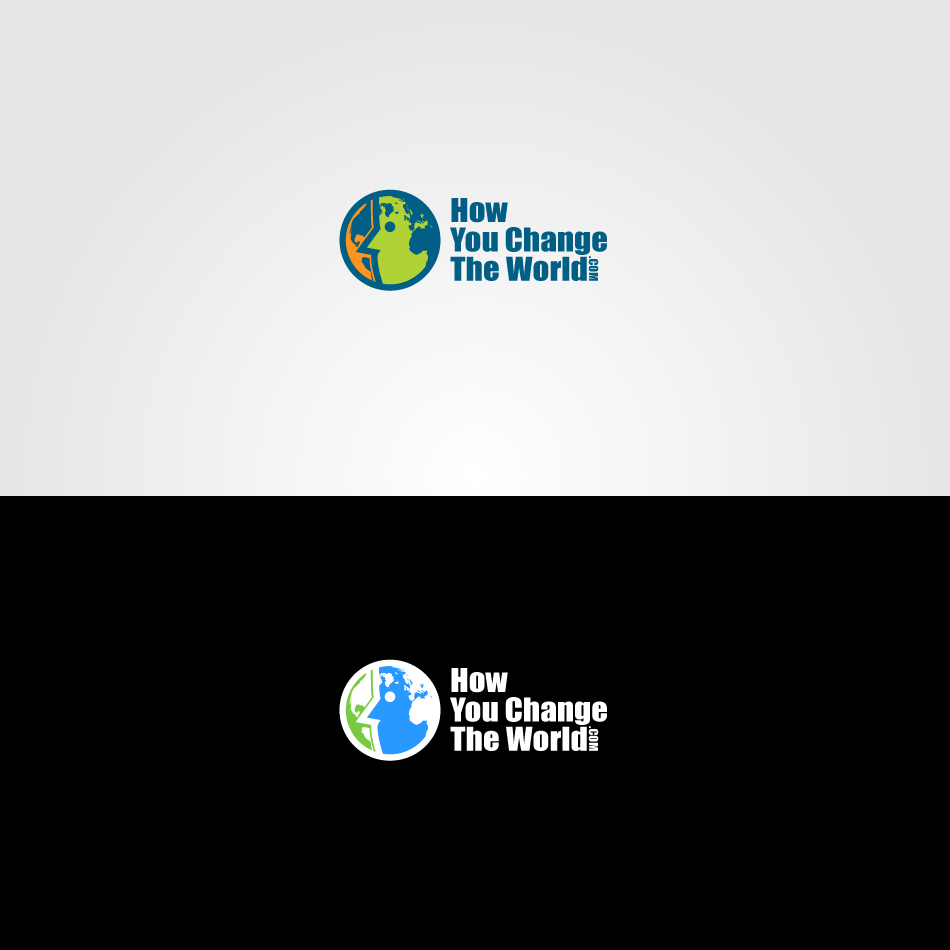 Logo Design by GraySource - Entry No. 9 in the Logo Design Contest Logo Design Needed for Exciting New Company HowYouChangeTheWorld.com.