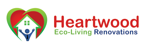 Logo Design by Private User - Entry No. 41 in the Logo Design Contest New Logo Design for Heartwood Eco-Living Renovations.
