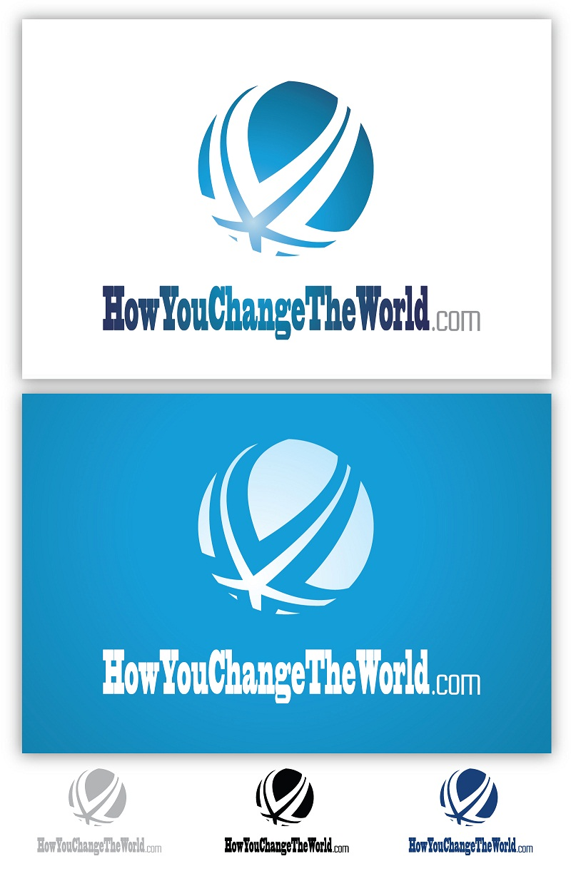 Logo Design by kowreck - Entry No. 21 in the Logo Design Contest Logo Design Needed for Exciting New Company HowYouChangeTheWorld.com.
