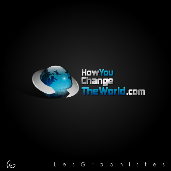 Logo Design by Les-Graphistes - Entry No. 22 in the Logo Design Contest Logo Design Needed for Exciting New Company HowYouChangeTheWorld.com.