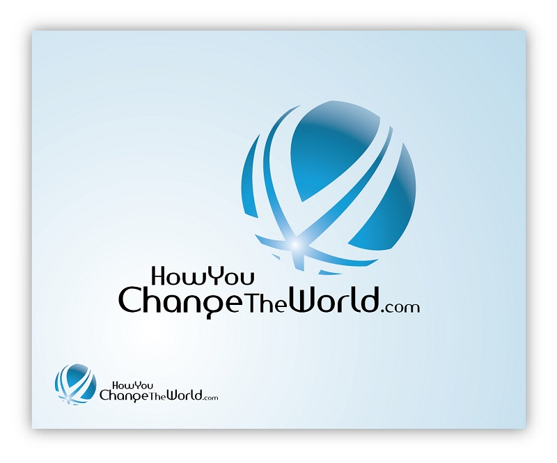 Logo Design by kowreck - Entry No. 23 in the Logo Design Contest Logo Design Needed for Exciting New Company HowYouChangeTheWorld.com.
