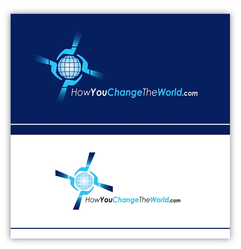 Logo Design by kowreck - Entry No. 27 in the Logo Design Contest Logo Design Needed for Exciting New Company HowYouChangeTheWorld.com.