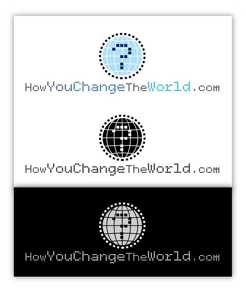 Logo Design by kowreck - Entry No. 29 in the Logo Design Contest Logo Design Needed for Exciting New Company HowYouChangeTheWorld.com.