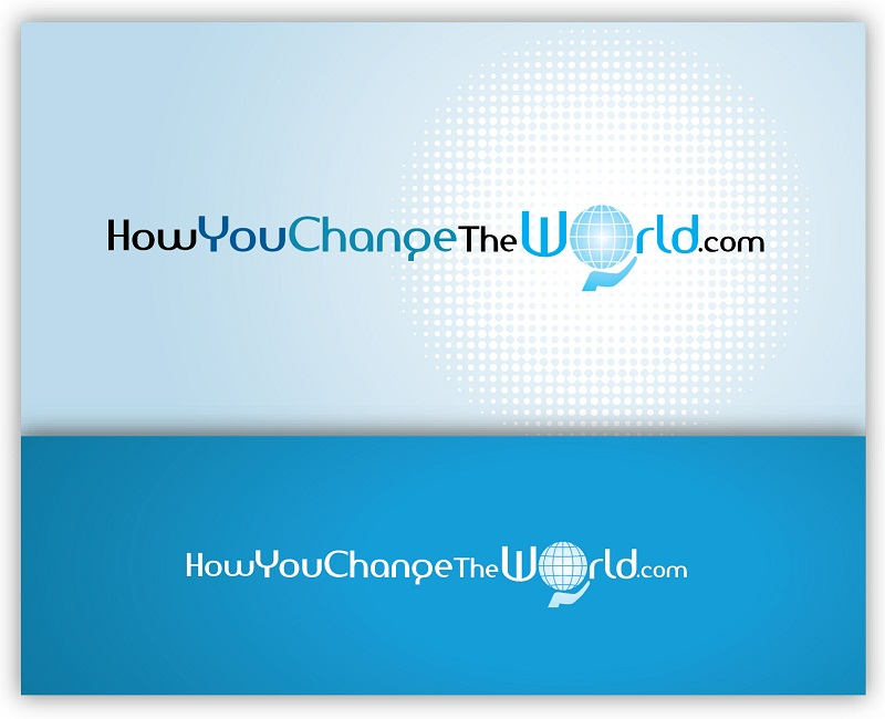 Logo Design by kowreck - Entry No. 30 in the Logo Design Contest Logo Design Needed for Exciting New Company HowYouChangeTheWorld.com.