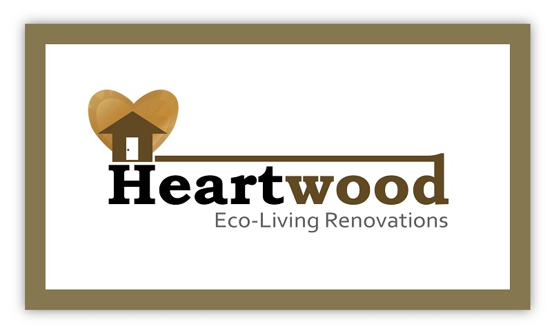 Logo Design by kowreck - Entry No. 56 in the Logo Design Contest New Logo Design for Heartwood Eco-Living Renovations.