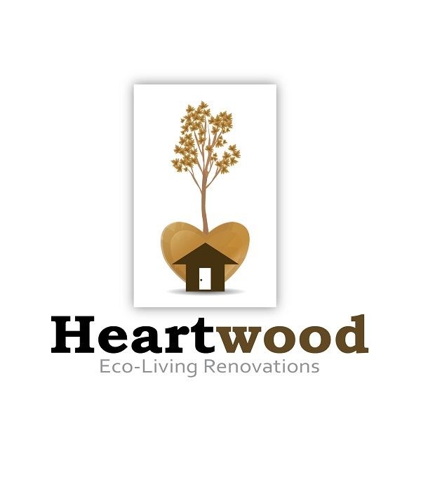 Logo Design by kowreck - Entry No. 57 in the Logo Design Contest New Logo Design for Heartwood Eco-Living Renovations.