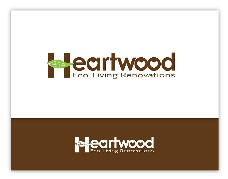 Logo Design by kowreck - Entry No. 58 in the Logo Design Contest New Logo Design for Heartwood Eco-Living Renovations.