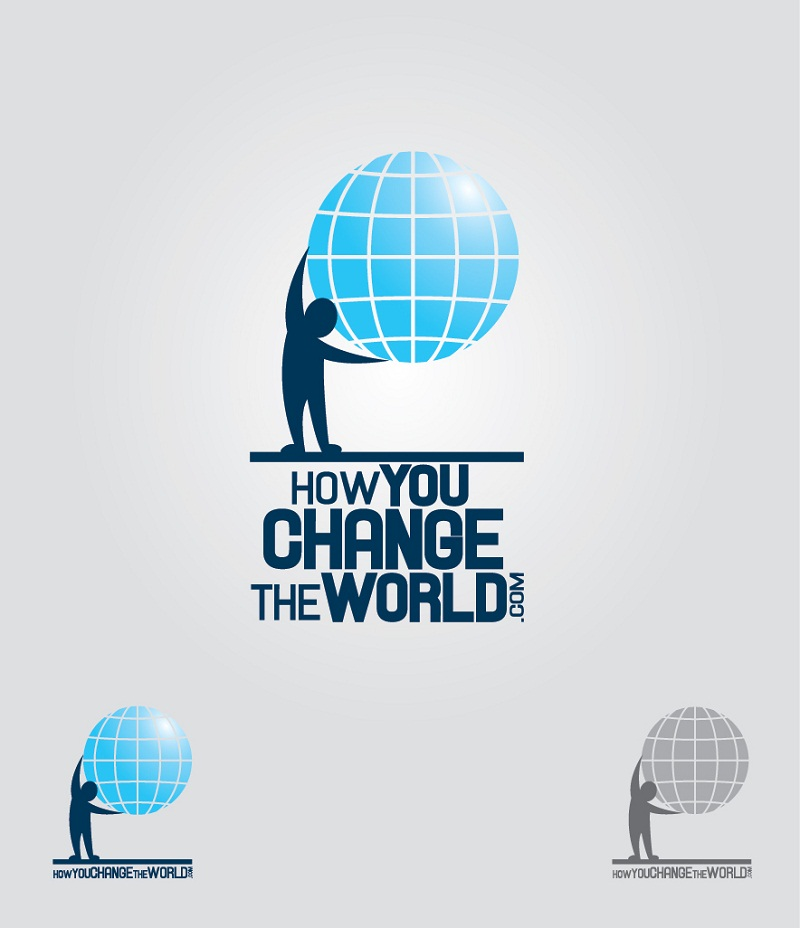 Logo Design by kowreck - Entry No. 31 in the Logo Design Contest Logo Design Needed for Exciting New Company HowYouChangeTheWorld.com.