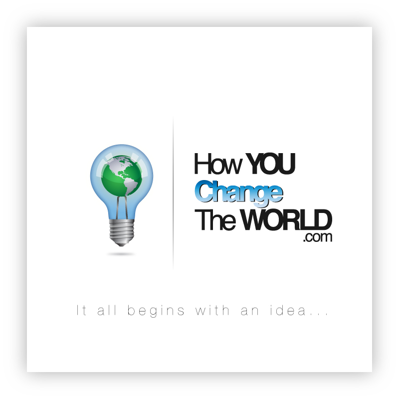 Logo Design by trav - Entry No. 48 in the Logo Design Contest Logo Design Needed for Exciting New Company HowYouChangeTheWorld.com.