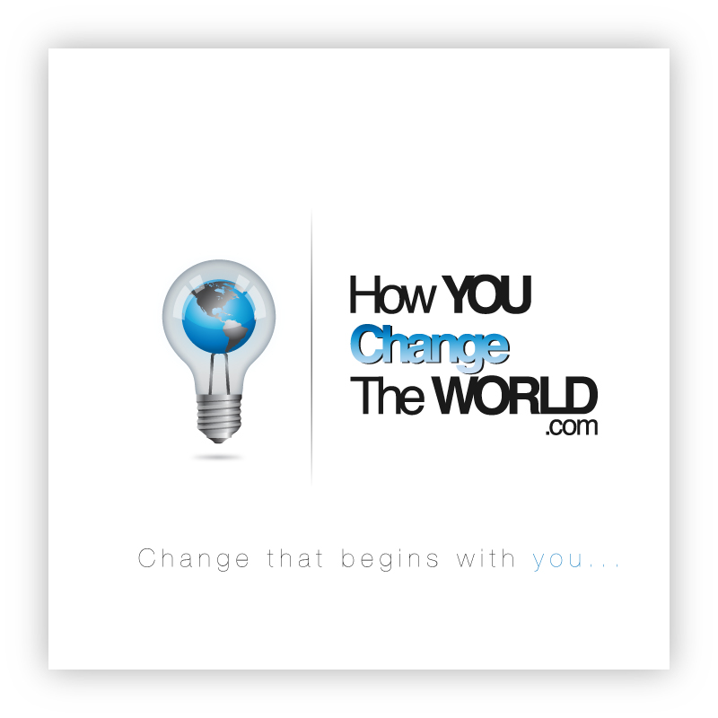 Logo Design by trav - Entry No. 55 in the Logo Design Contest Logo Design Needed for Exciting New Company HowYouChangeTheWorld.com.