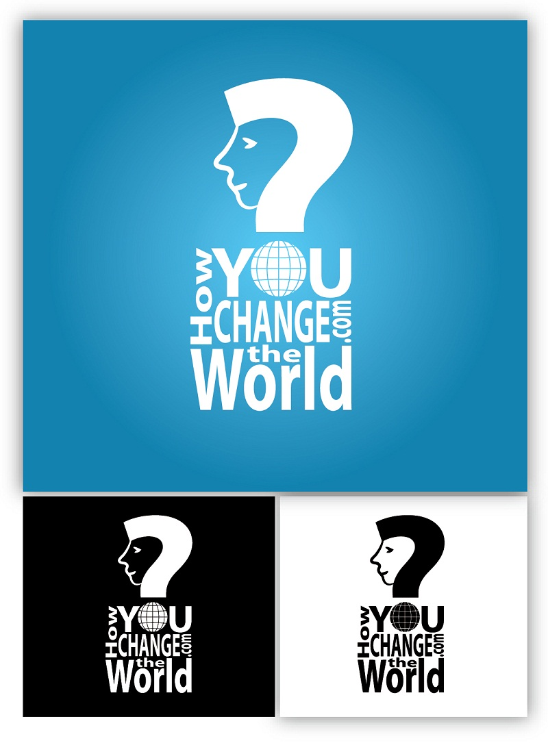 Logo Design by kowreck - Entry No. 69 in the Logo Design Contest Logo Design Needed for Exciting New Company HowYouChangeTheWorld.com.