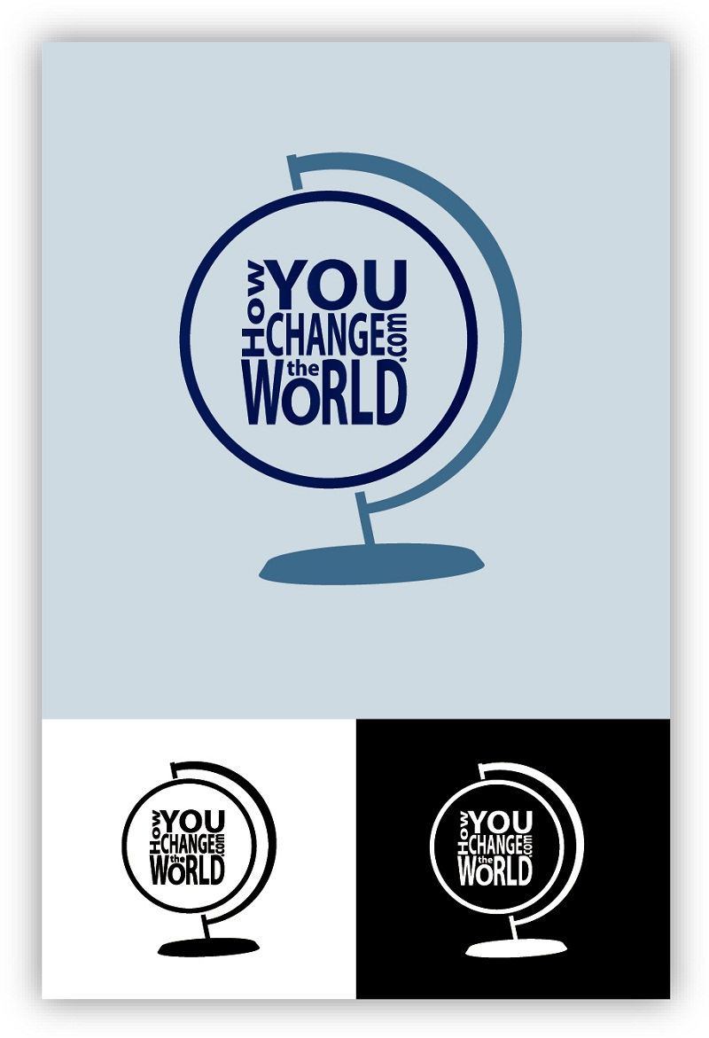 Logo Design by kowreck - Entry No. 72 in the Logo Design Contest Logo Design Needed for Exciting New Company HowYouChangeTheWorld.com.
