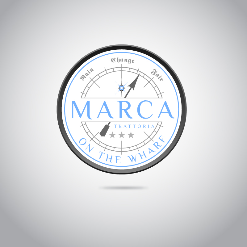 Logo Design by trav - Entry No. 1 in the Logo Design Contest New Logo Design for Marca on the Wharf.