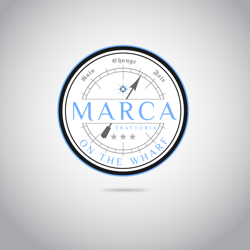 Logo Design by trav - Entry No. 2 in the Logo Design Contest New Logo Design for Marca on the Wharf.
