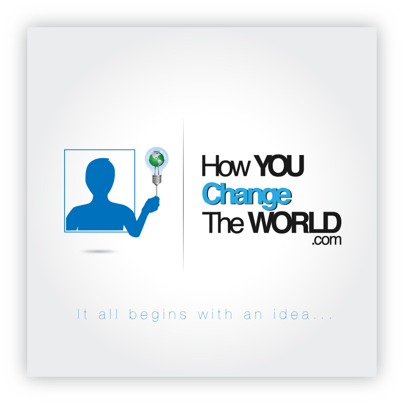 Logo Design by trav - Entry No. 81 in the Logo Design Contest Logo Design Needed for Exciting New Company HowYouChangeTheWorld.com.