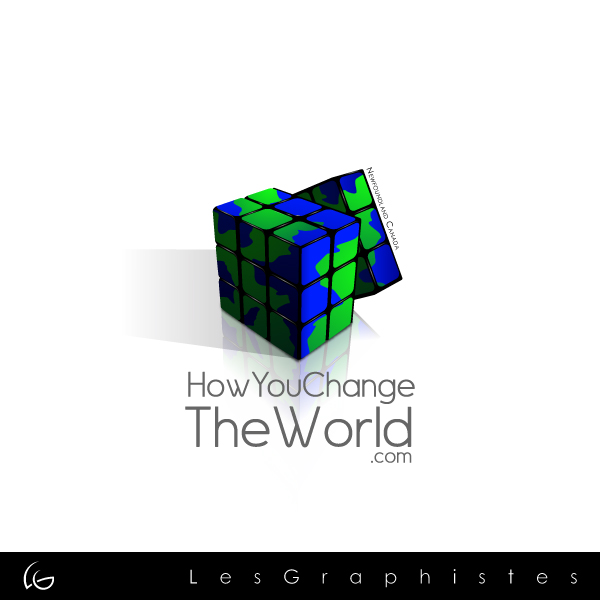 Logo Design by Les-Graphistes - Entry No. 84 in the Logo Design Contest Logo Design Needed for Exciting New Company HowYouChangeTheWorld.com.