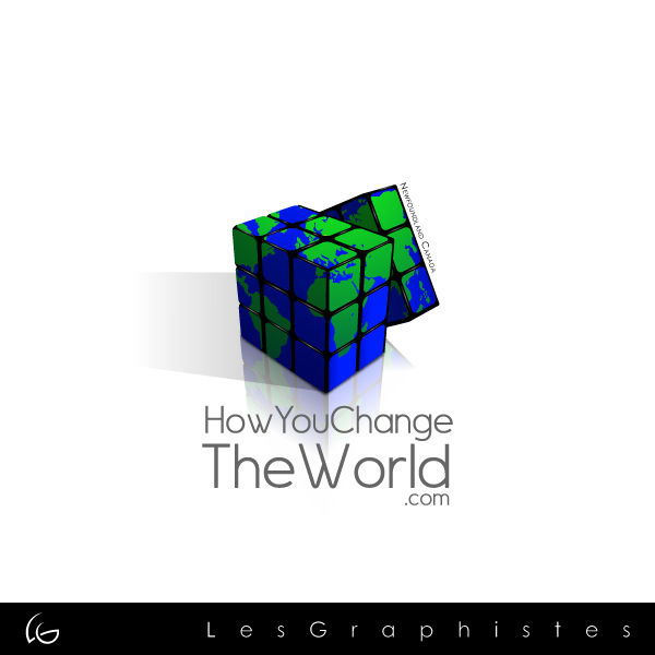 Logo Design by Les-Graphistes - Entry No. 85 in the Logo Design Contest Logo Design Needed for Exciting New Company HowYouChangeTheWorld.com.