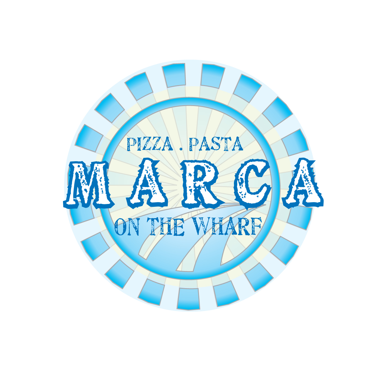 Logo Design by stormbighit - Entry No. 6 in the Logo Design Contest New Logo Design for Marca on the Wharf.