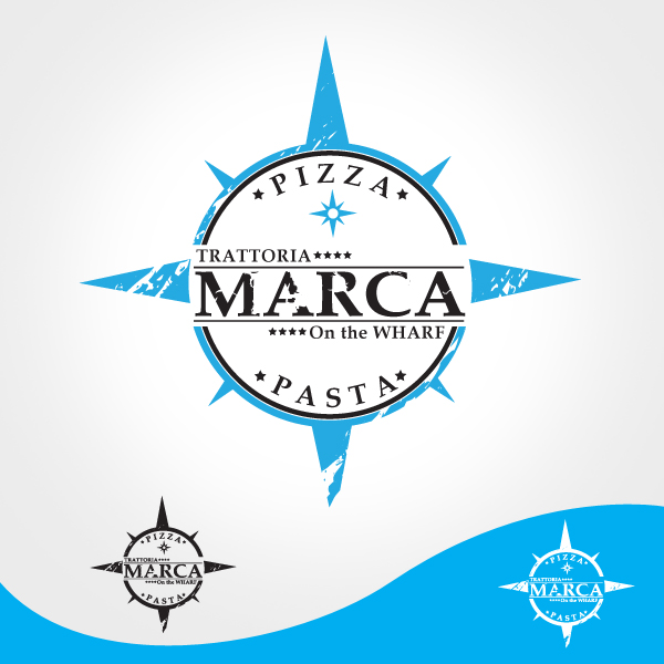 Logo Design by storm - Entry No. 10 in the Logo Design Contest New Logo Design for Marca on the Wharf.