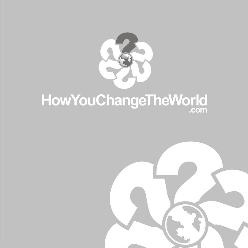Logo Design by Heru budi Santoso - Entry No. 98 in the Logo Design Contest Logo Design Needed for Exciting New Company HowYouChangeTheWorld.com.