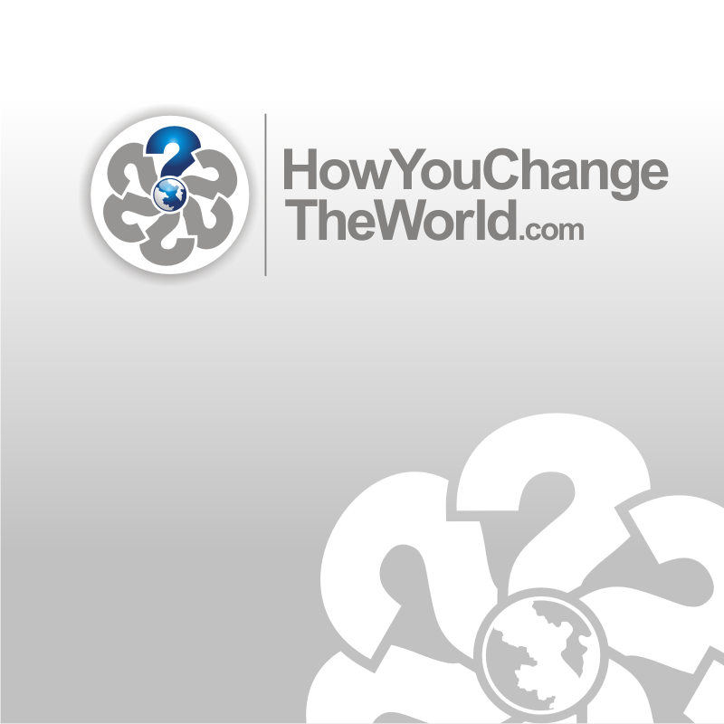 Logo Design by Heru budi Santoso - Entry No. 99 in the Logo Design Contest Logo Design Needed for Exciting New Company HowYouChangeTheWorld.com.