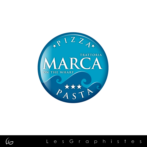 Logo Design by Les-Graphistes - Entry No. 21 in the Logo Design Contest New Logo Design for Marca on the Wharf.