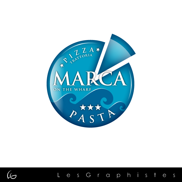 Logo Design by Les-Graphistes - Entry No. 22 in the Logo Design Contest New Logo Design for Marca on the Wharf.