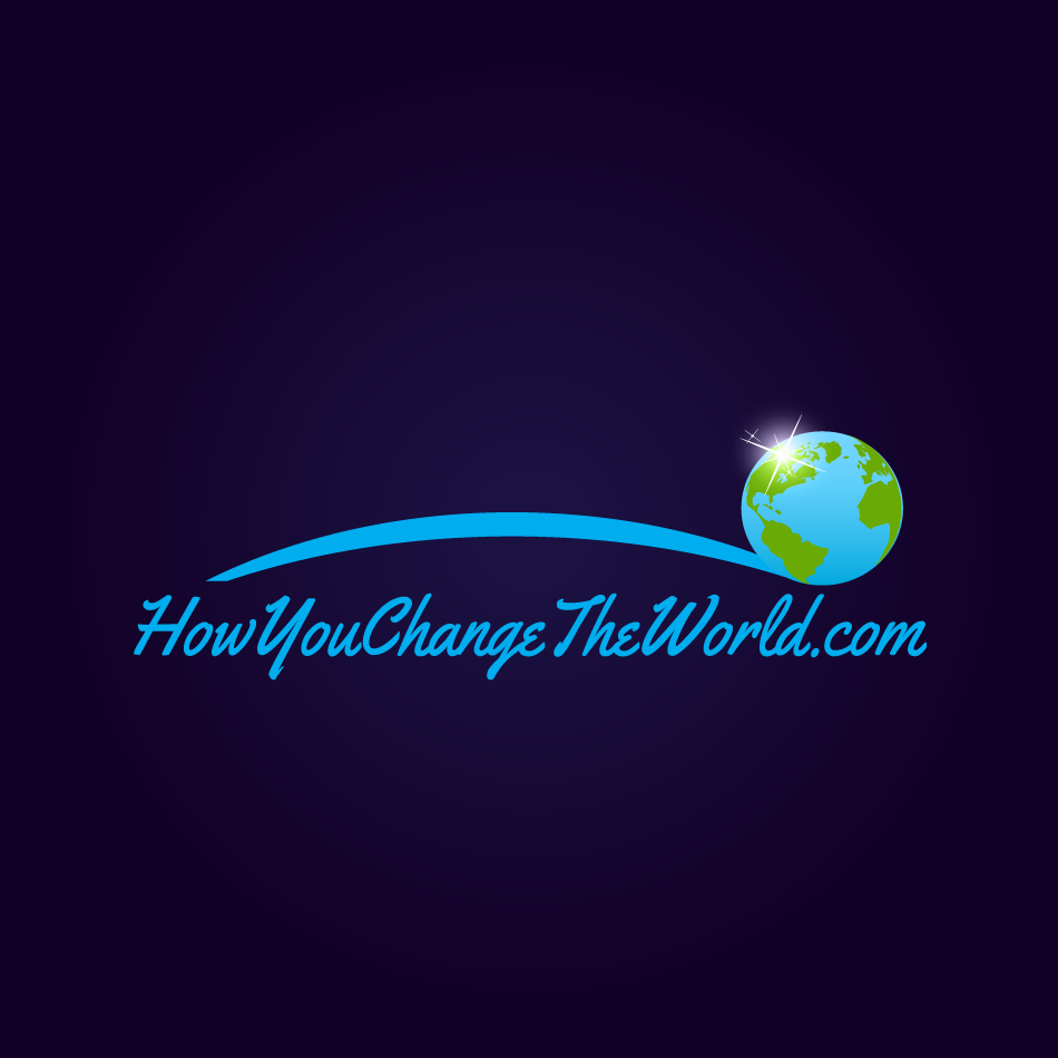 Logo Design by moonflower - Entry No. 110 in the Logo Design Contest Logo Design Needed for Exciting New Company HowYouChangeTheWorld.com.