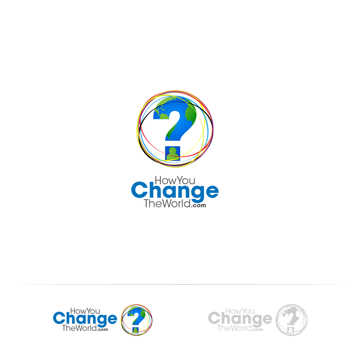 Logo Design by zesthar - Entry No. 114 in the Logo Design Contest Logo Design Needed for Exciting New Company HowYouChangeTheWorld.com.