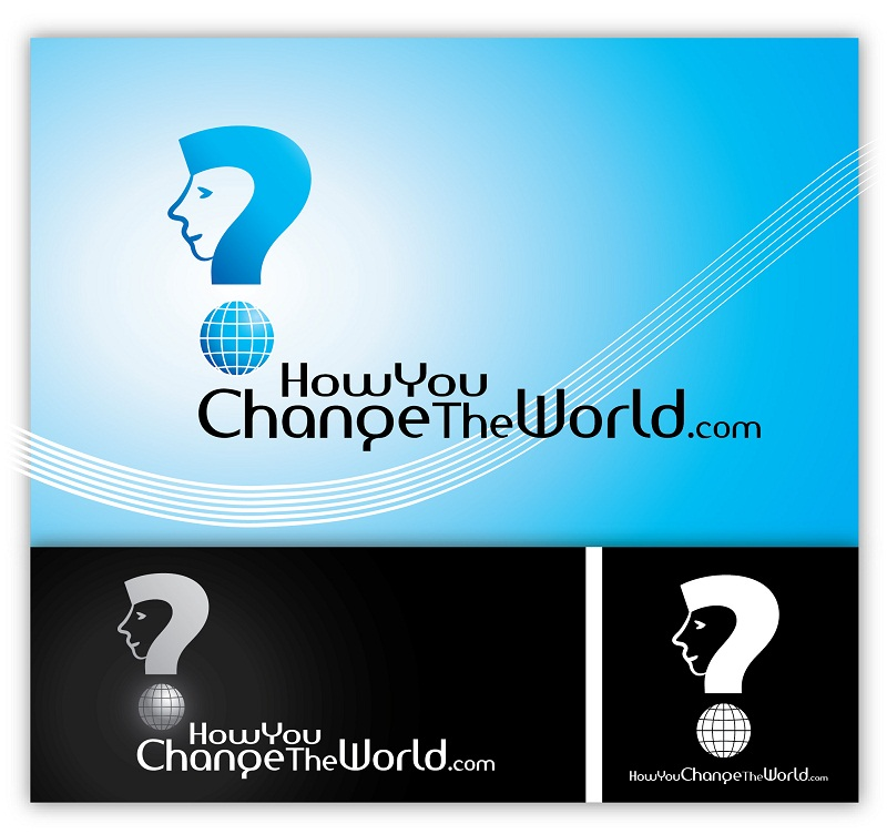 Logo Design by kowreck - Entry No. 115 in the Logo Design Contest Logo Design Needed for Exciting New Company HowYouChangeTheWorld.com.