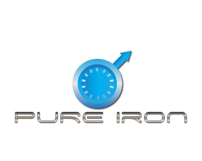 Logo Design by Diana Roder - Entry No. 1 in the Logo Design Contest Fun Logo Design for Pure Iron.