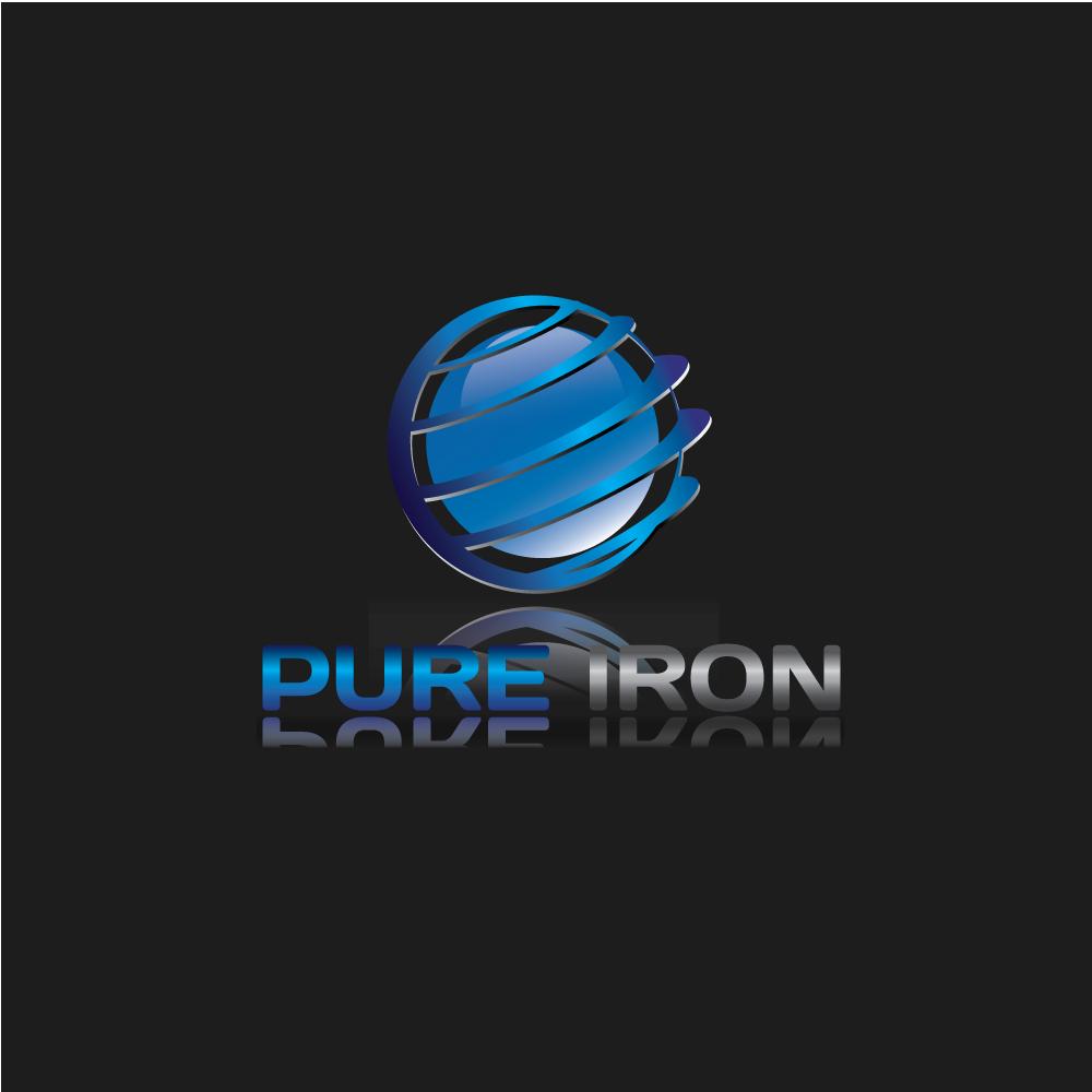 Logo Design by rockin - Entry No. 3 in the Logo Design Contest Fun Logo Design for Pure Iron.