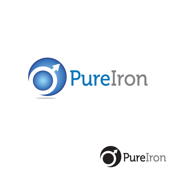 Logo Design by storm - Entry No. 6 in the Logo Design Contest Fun Logo Design for Pure Iron.