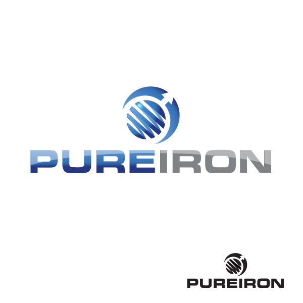 Logo Design by storm - Entry No. 7 in the Logo Design Contest Fun Logo Design for Pure Iron.