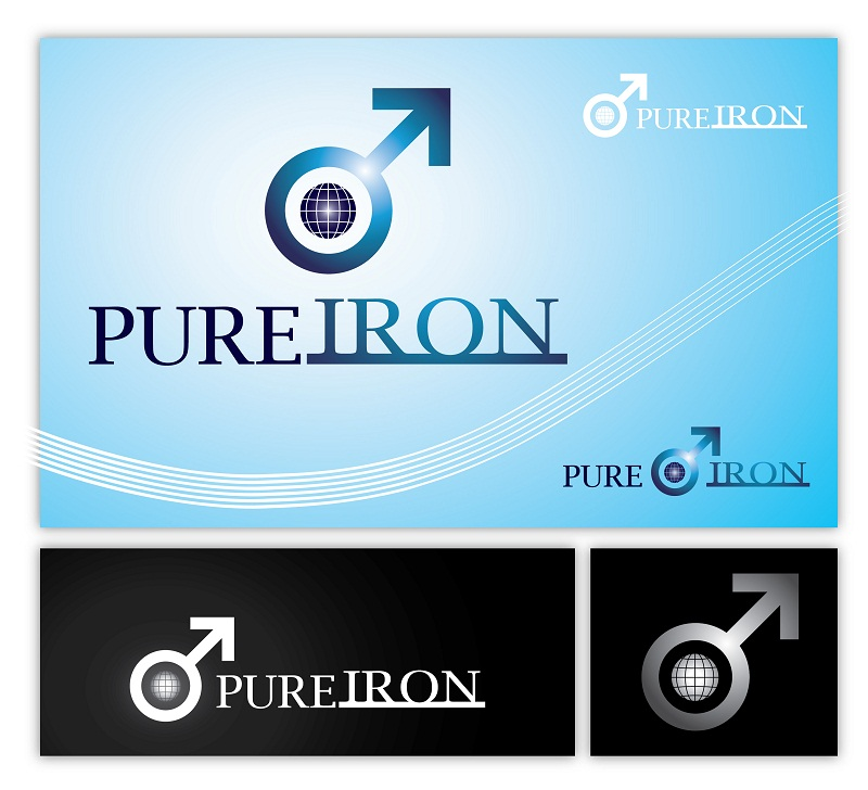 Logo Design by kowreck - Entry No. 8 in the Logo Design Contest Fun Logo Design for Pure Iron.