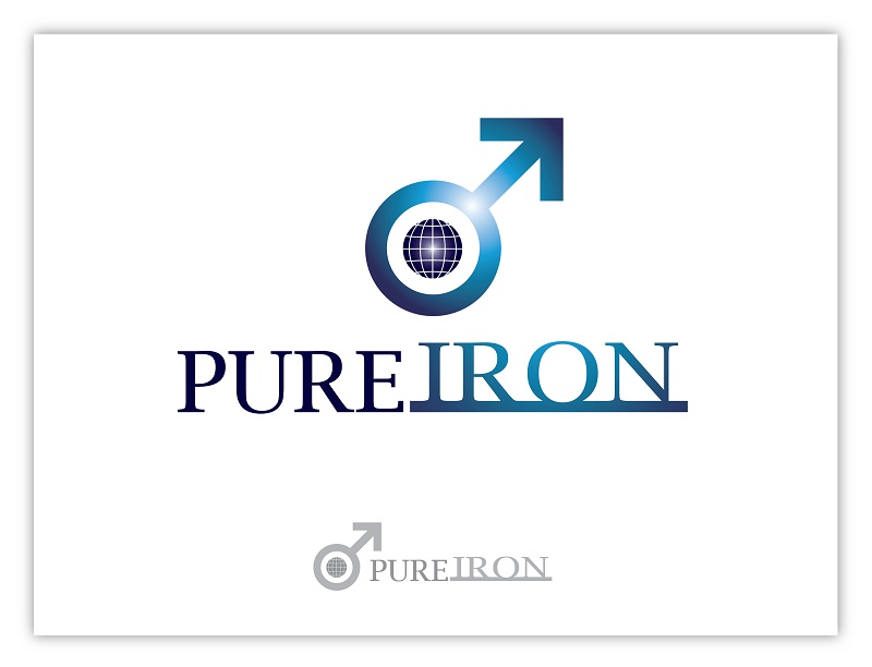 Logo Design by kowreck - Entry No. 9 in the Logo Design Contest Fun Logo Design for Pure Iron.