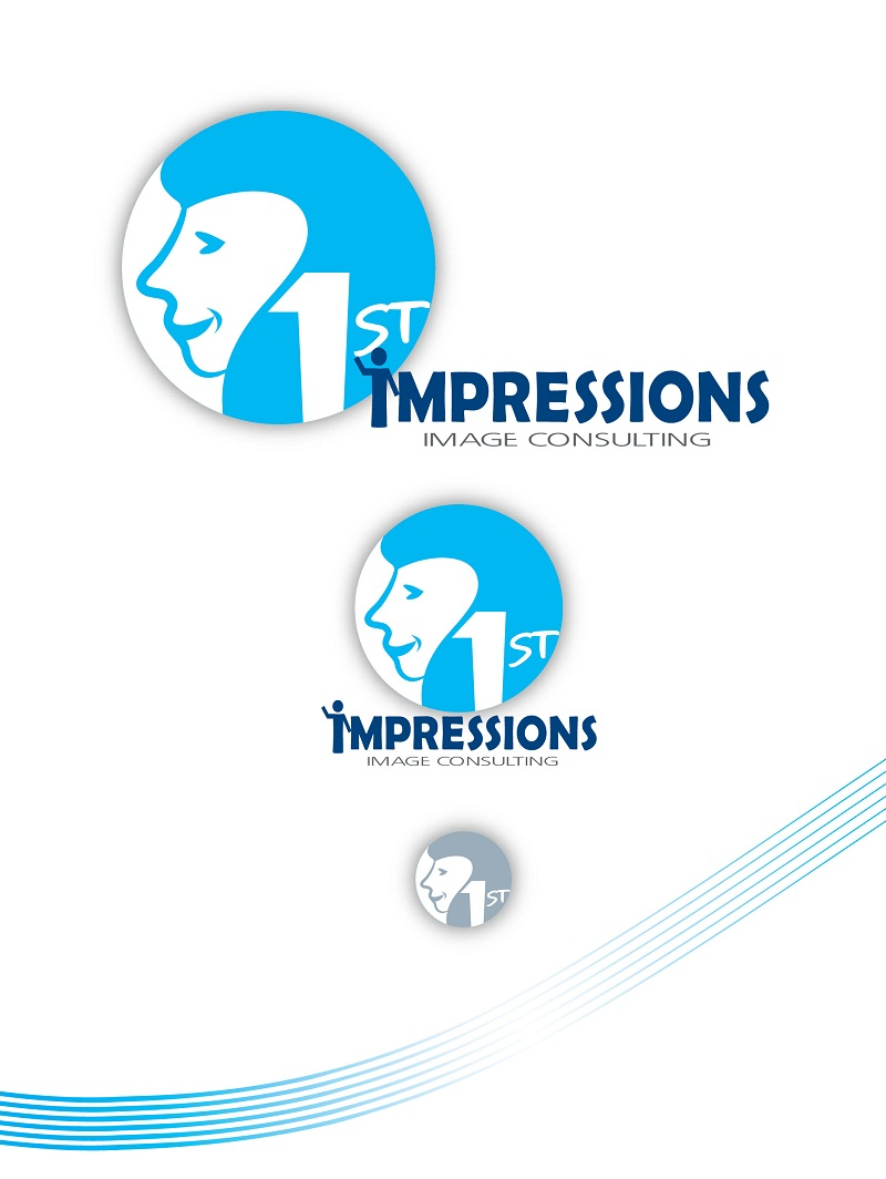 Logo Design by kowreck - Entry No. 3 in the Logo Design Contest First Impressions Image Consulting Logo Design.