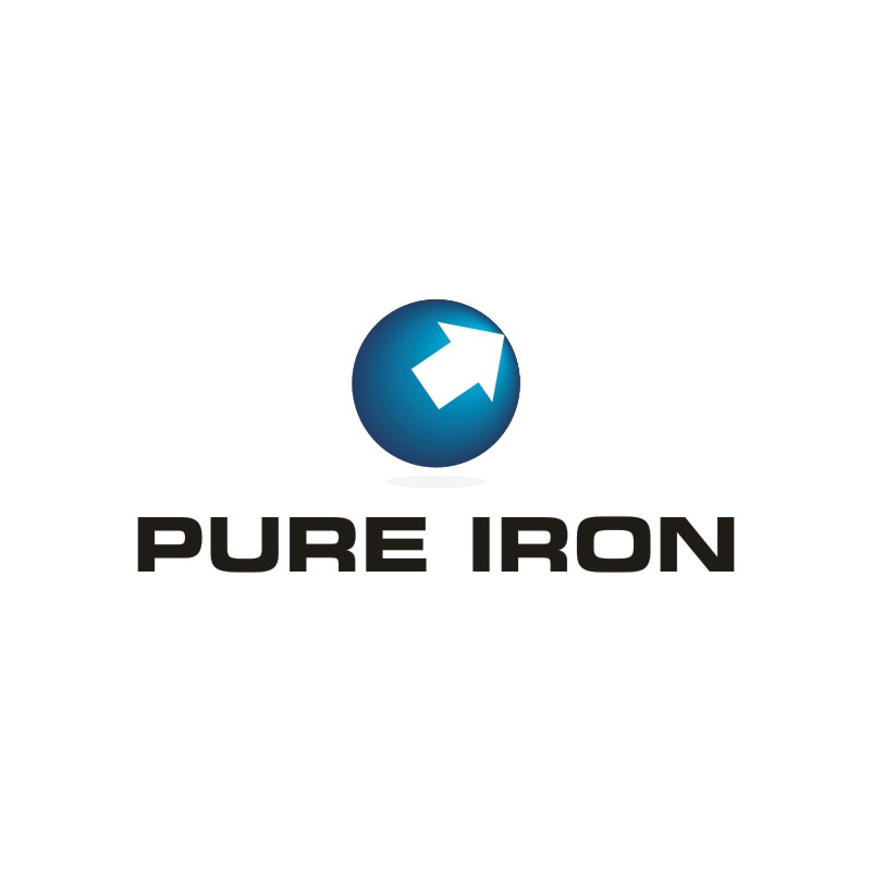 Logo Design by Private User - Entry No. 14 in the Logo Design Contest Fun Logo Design for Pure Iron.