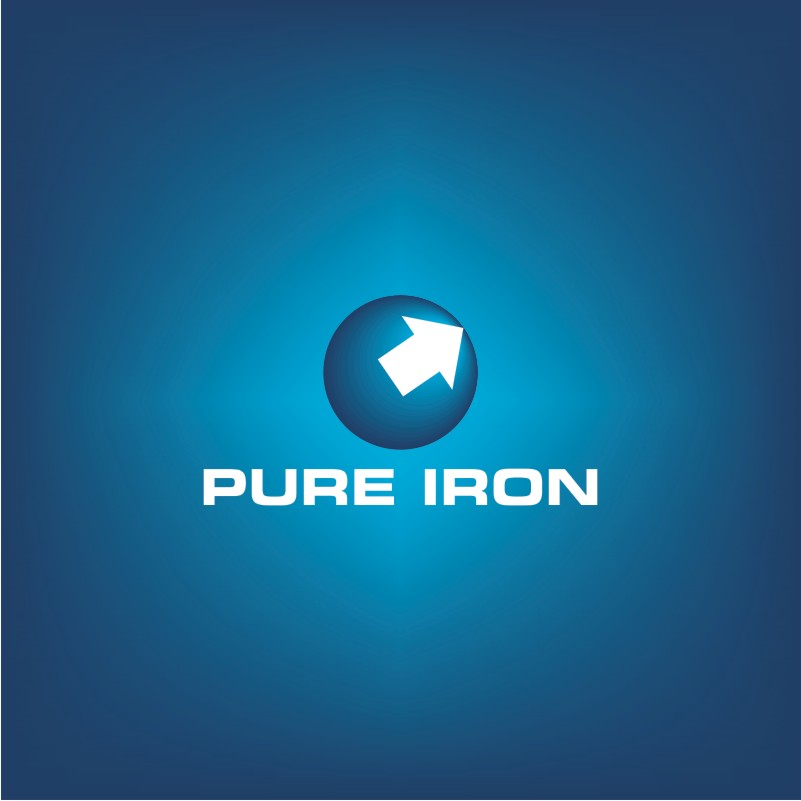 Logo Design by Private User - Entry No. 15 in the Logo Design Contest Fun Logo Design for Pure Iron.