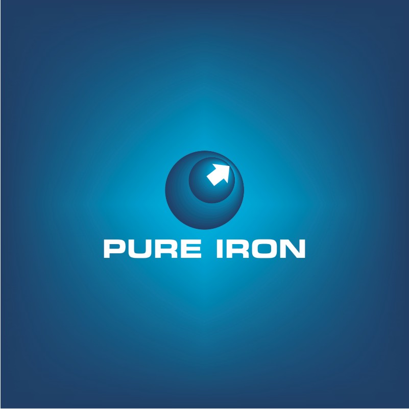 Logo Design by Private User - Entry No. 16 in the Logo Design Contest Fun Logo Design for Pure Iron.