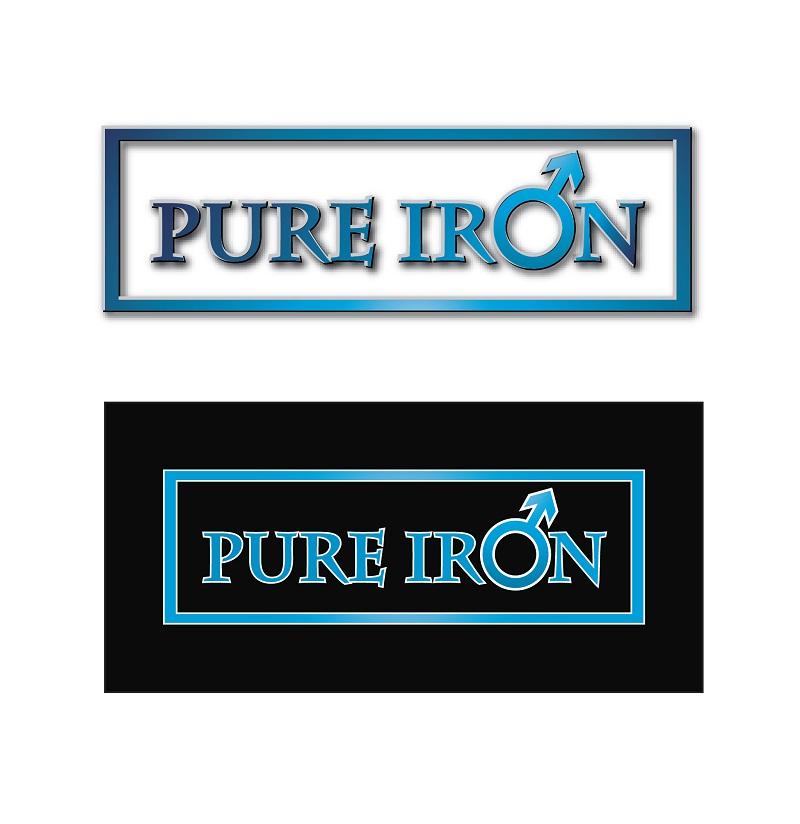 Logo Design by kowreck - Entry No. 17 in the Logo Design Contest Fun Logo Design for Pure Iron.
