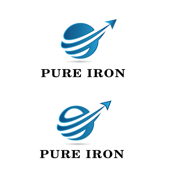 Logo Design by peps - Entry No. 18 in the Logo Design Contest Fun Logo Design for Pure Iron.
