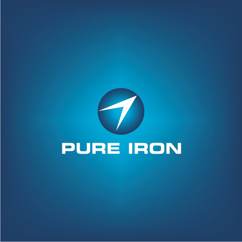 Logo Design by Private User - Entry No. 19 in the Logo Design Contest Fun Logo Design for Pure Iron.