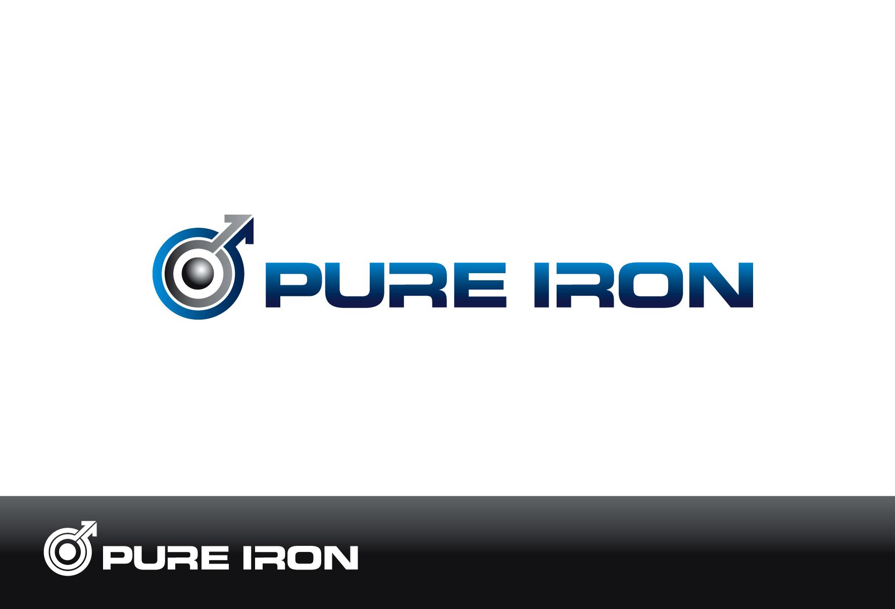 Logo Design by luna - Entry No. 20 in the Logo Design Contest Fun Logo Design for Pure Iron.