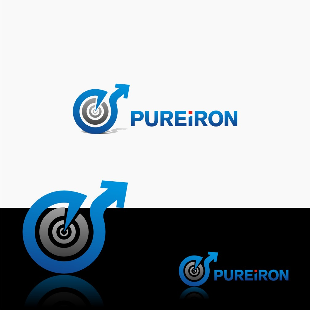 Logo Design by graphicleaf - Entry No. 22 in the Logo Design Contest Fun Logo Design for Pure Iron.